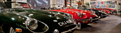 The Eagle E-Type Showroom