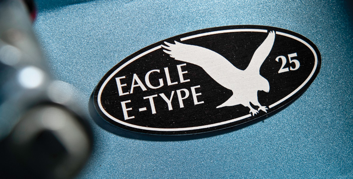 Eagle E-Type badge