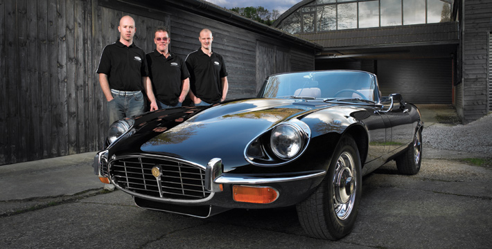 Spies Hecker Winning E-Type Jaguar