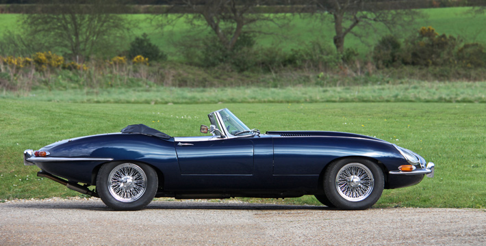 1966 E-Type Series 1 4.2 Roadster Exterior