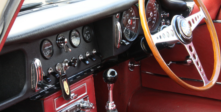 1967 E-Type Series 1 4.2 Coupe Interior