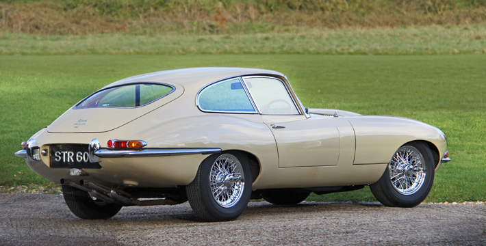 1967 E-Type Series 1 4.2 Coupe Rear
