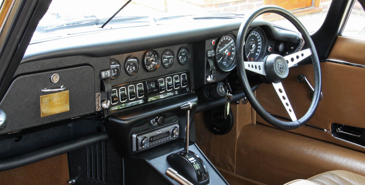 1974 S3 V12 Commemorative Roadster Interior