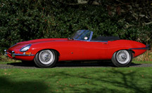 Jaguar Series 1 E-Type Roadster for Sale
