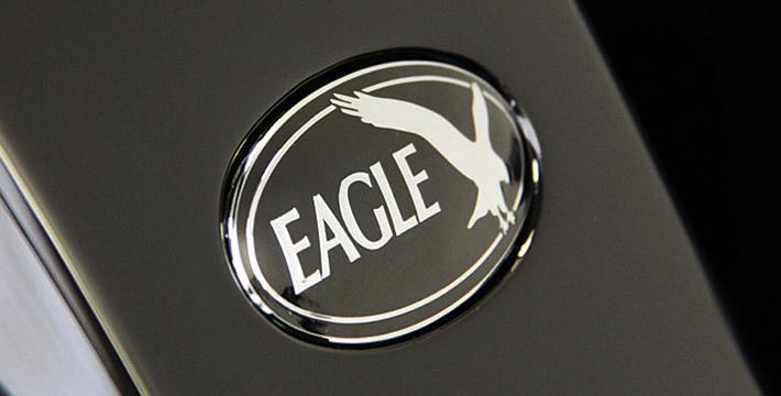 Eagle E-Type Logo Badge