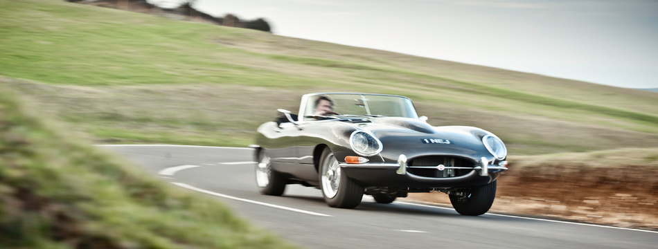 An Eagle E-Type in Sussex