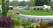 Hampton Court sustainable garden