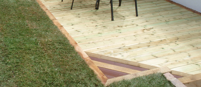 Decking In Buxted