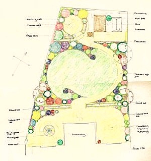 image of small design for a country garden