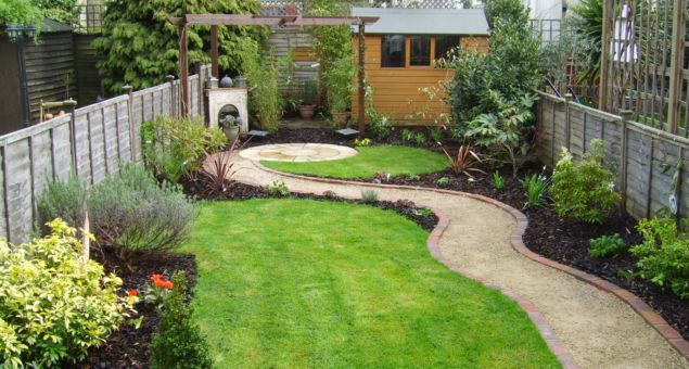 Small Rectangular Garden Design Pictures