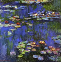 image of Claude Monet painting