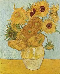 image of Van Gogh's Sunflowers