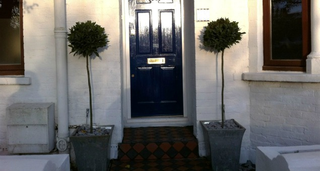 A new welcoming entrance to our clients' home.