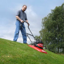 picture of a hover lawnmower