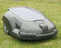 picture of robotic lawnmower
