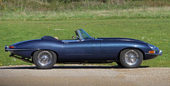 Jaguar E-Type S1 3.8 Eagle Sport specification Roadster