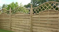 picture of contemporary fence panel
