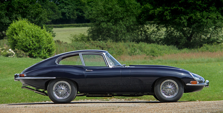 un-restored low mileage jaguar e-type series 1 coupe