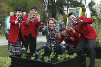 picture of launch of Young School Gardener of the Year 2012
