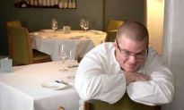 picture of Heston Blumenthal at the Fat Duck