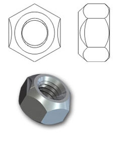 Binx® Tri-5 locking nuts
