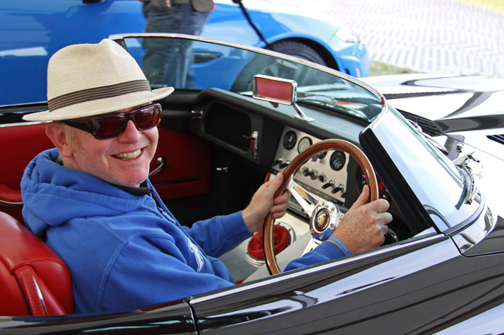 Chris Evans Carfest invites Eagle with the Speedster