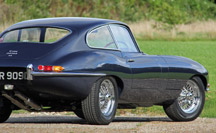 Upgraded Jaguar E-Type S1 4.2 Coupe for sale in the UK by Eagle E-Types
