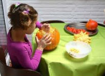 picture of pumpkin carving