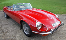 A low mileage manual Jaguar E-Type V12 Roadster for sale
