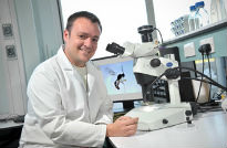 image of biologist at Hull University