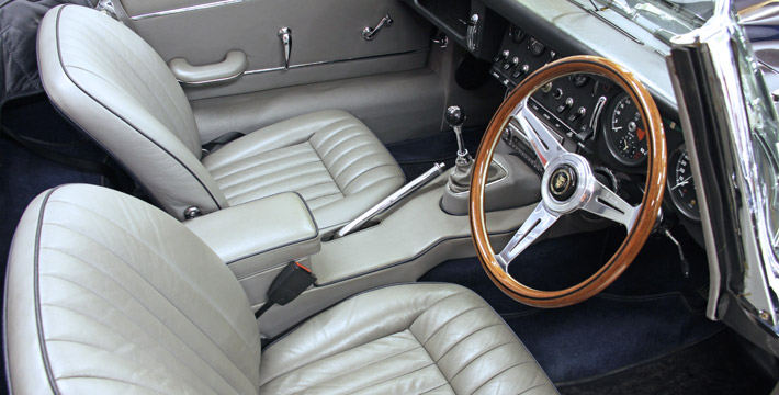 1966 E-Type Series 1 4.2 Roadster Interior