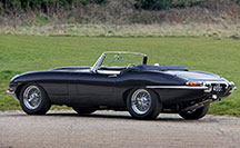 Fully restored and upgraded Jaguar E-Type Series 1 4.2 Roadster from Eagle E-Types