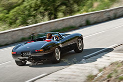 The Eagle E-Type Speedster in the South of France