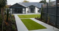 traditional garden with modern twist