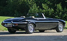 A stunning low mileage Jaguar E-Type V12 Commemorative Roadster for sale from Eagle E-Types in East Sussex