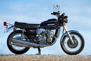 A superb un-restored low mileage one owner Suzuki GT750 for sale