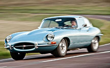 Superb condition Jaguar E-Type coupe for sale from Eagle. S1 4.2 with upgrades.
