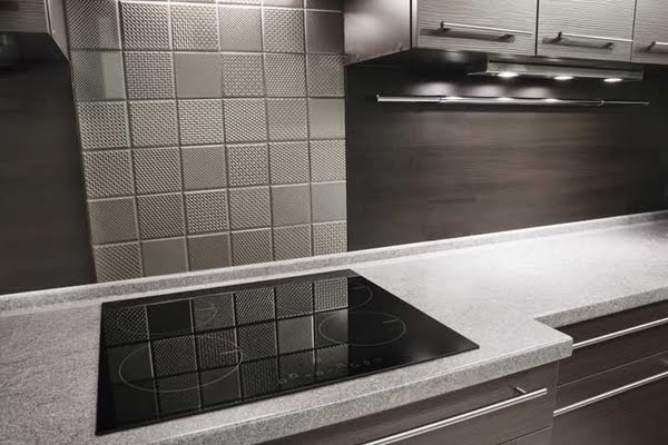 Hobbs Porter Manufacture Bespoke Stainless Steel Tile Effect Wall Panels For Domestic Kitchens Throughout The Uk