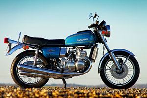 Fully restored Suzuki GT750 1976 for sale from Proper Bikes