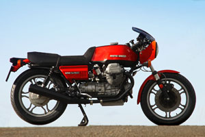 Ver original Moto Guzzi Le Mans 1 from 1978 for sale in superb condition from Proper Bikes, UK