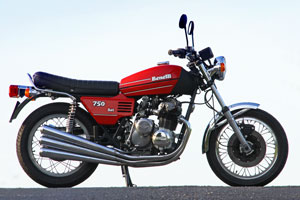 A restored Benelli 750 Sei for sale from Proper Bikes Classic Motorcycle sales in UK
