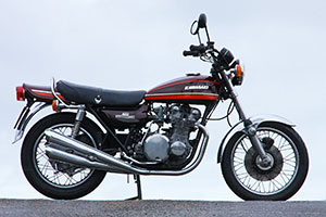 Kawasaki Z1A 1974 for sale in superb un-restored and original condition from Paul Brace Proper Bikes