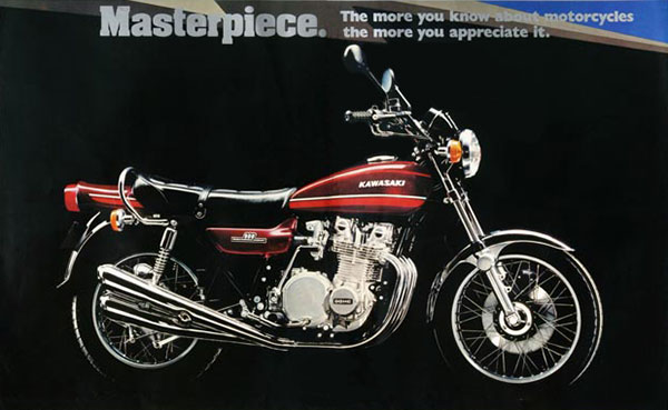 1974 Kawasaki Z1A for sale in the UK from Proper Bikes. Fantastic un-restored and original