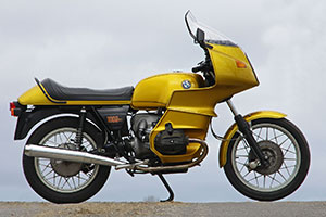 BMW R100RS for sale, low mileage, un-restored in exceptional original condition