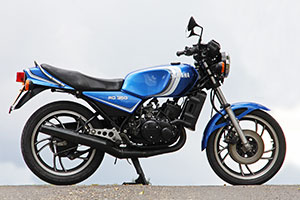 One owner, low mileage, un-restored Yamaha RD350LC for sale