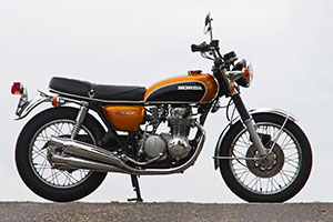 Sensational un-restored Honda CB500 four for sale by Proper Bikes in the UK