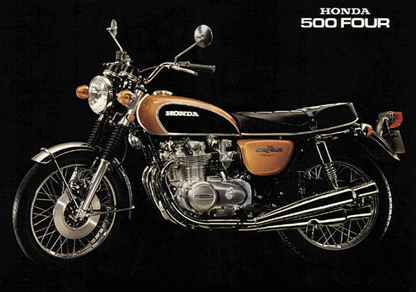 Superb condition un-restored and original Honda CB500 four KO for sale from Proper Bikes in the UK