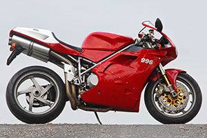 Standard original lo mileage Ducati 996S for sale in UK from Proper Bikes
