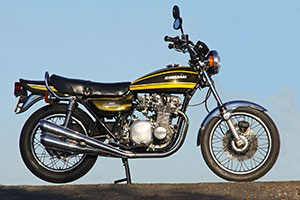 Kawasaki Z1A 1974 in excellent un-restored original condition for sale in UK from Proper Bikes