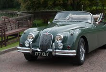 Beautiful 1959 XK150 DHC